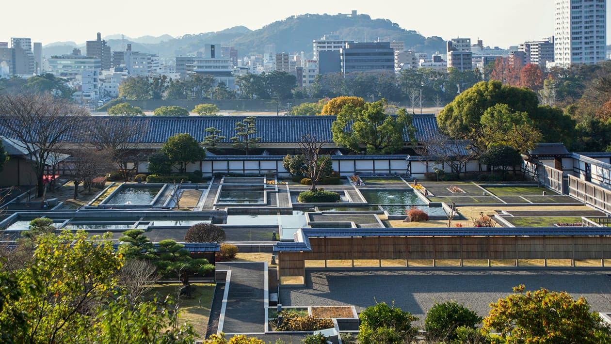 마쓰야마성 니노마루사적 정원