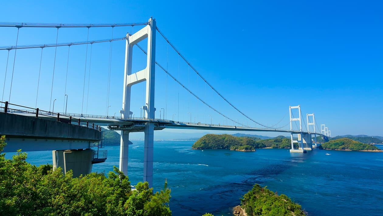 구루시마 (Kuru shima) 해협대교