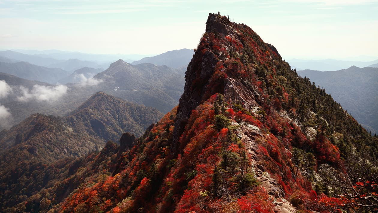 이시쓰치(Ishizuchi) 산